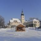 Winter Hauptplatz Sitzendorf