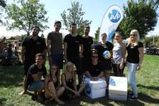 Das Team der JVP des Bezirks Hollabrunn